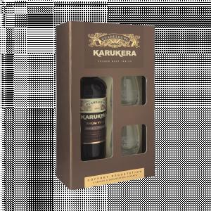 Karukera Rhum Vieux Res Speciale Kartonik + 2 Szklanki