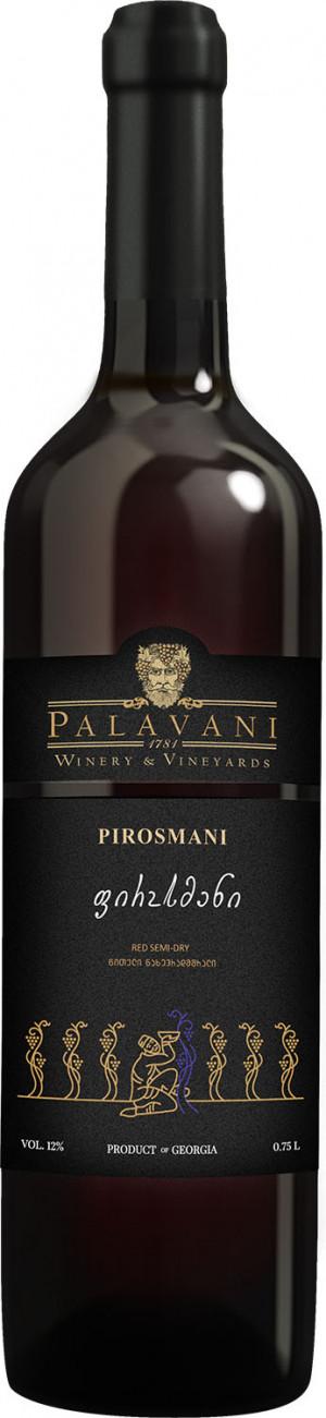 PALAVANI PIROSMANI 0,75  RED SEMI DRY