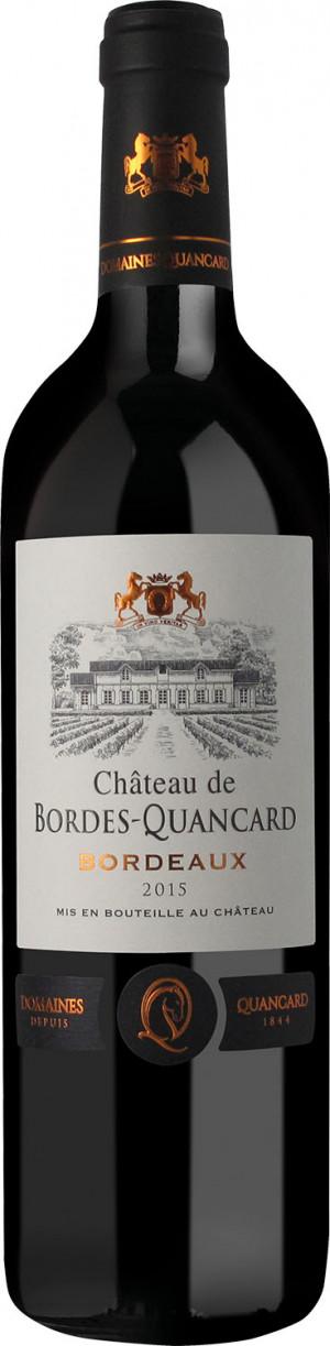 CHATEAU DE BORDES-QUANCARD 2014 0,75