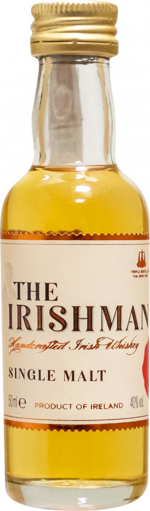 The Irishman Single Malt Miniaturka
