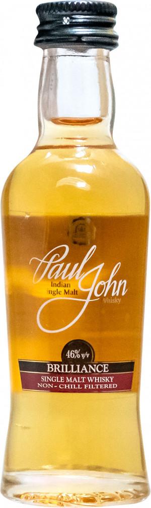 PAUL JOHN SINGLE MALT, BRILLANCE 0,05L mini
