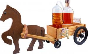 Koń z Wozem + Aparat do Destylacji