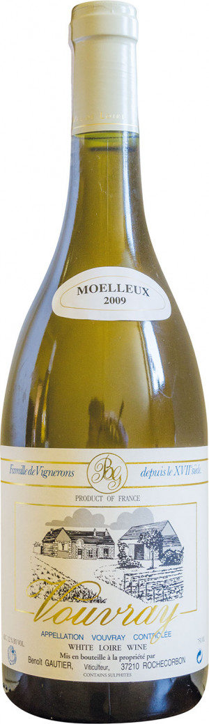 VOUVRAY TRANQUILLE MOELLEUX 0,75 2018 GAUTIER