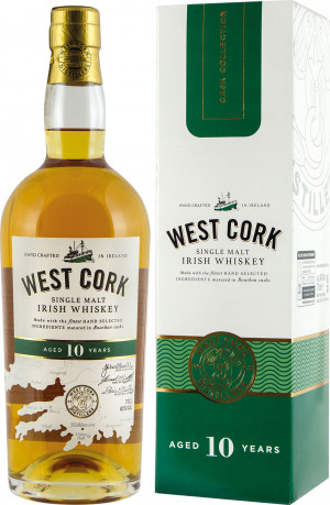 West Cork 10YO Single Malt Kartonik