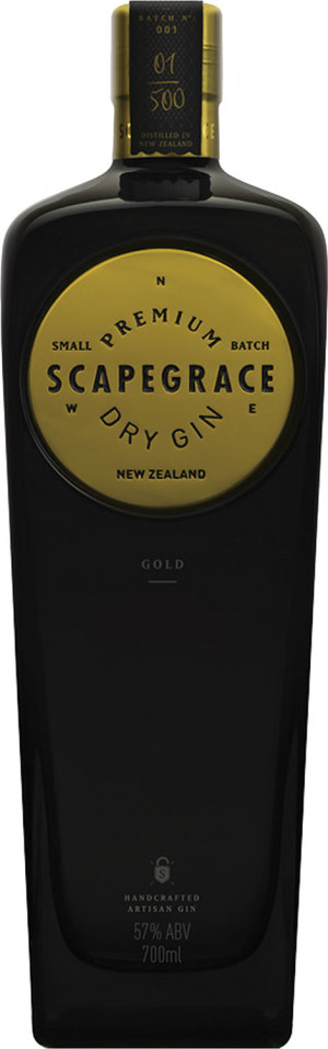 Scapegrace Premium Dry Gin Złoty