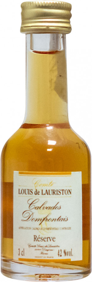 Calvados Mini Reserve Louis Lauriston 0,03L