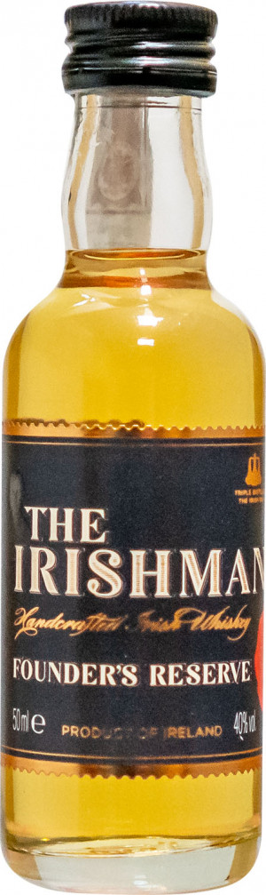 The Irishman Founders Reserve Miniaturka