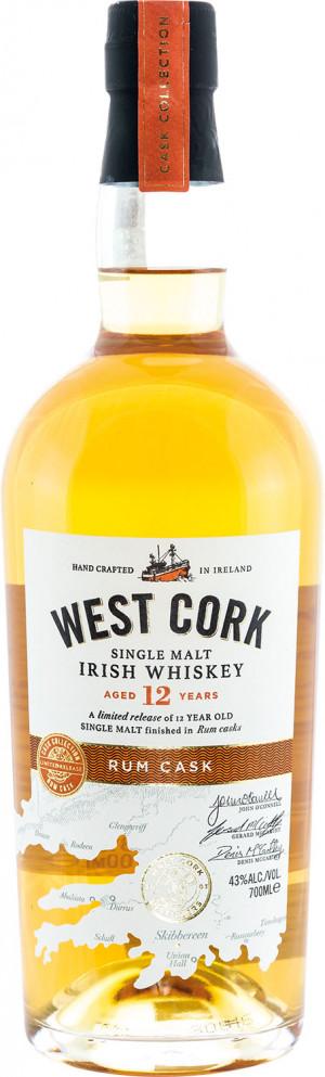 West Cork 12YO Rum Cask Malt
