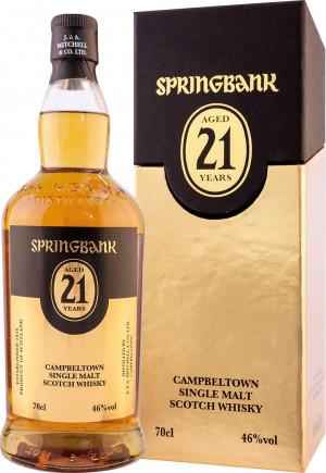 Springbank 21 YO 46,0% kartonik