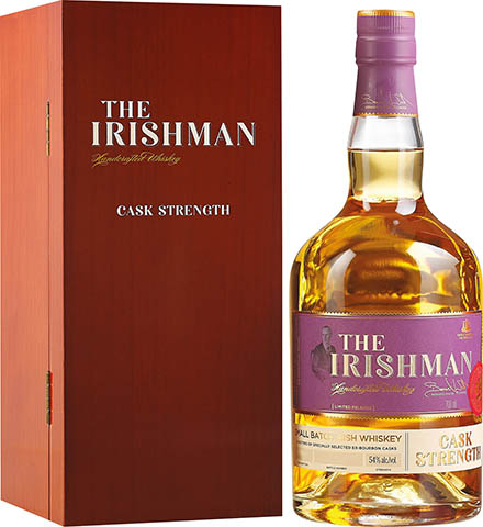 THE IRISHMAN CASK STRENGTH 0,7 54%