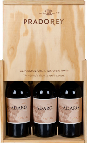 Adaro Pradorey 2016 Skrzynka 3 butelki