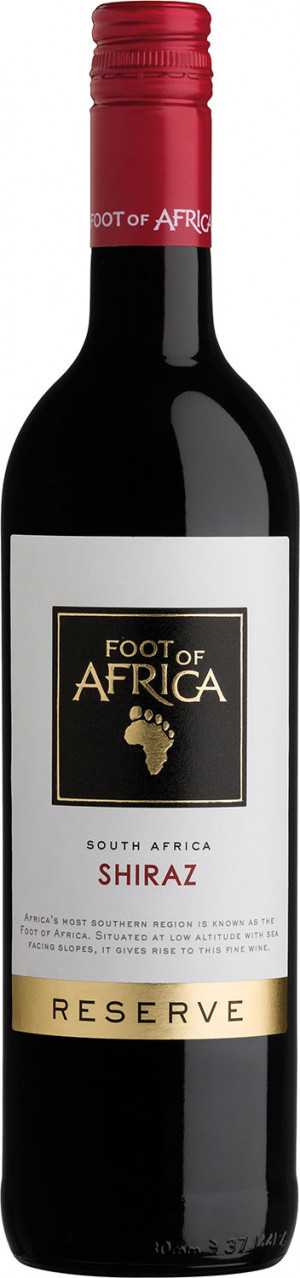 FOOT OF AFRICA SHIRAZ 0,75 2017