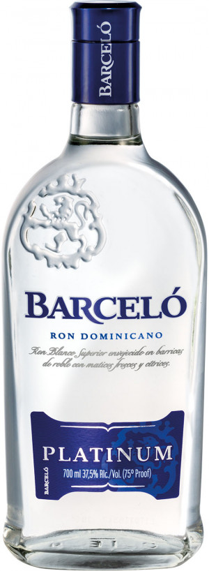 RON BARCELO GRAN PLATINUM 0,7L 37,5% RUM