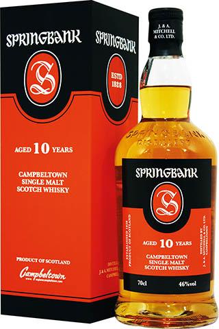Springbank 10 YO kartonik