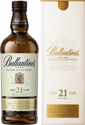 Ballantines 21YO Kartonik
