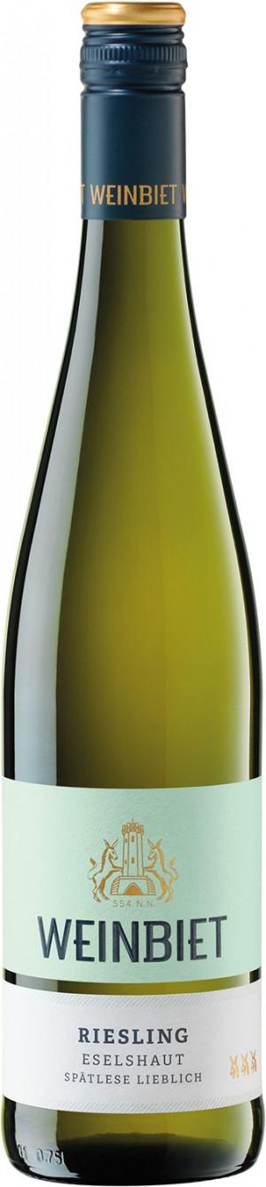Weinbiet Mussbacher Riesling Spatlese 2017