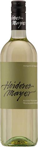 HEIDERER ROTER VELTLINER  0,75 2017