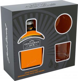 Gentelman Jack Kartonik + 2 szklanki