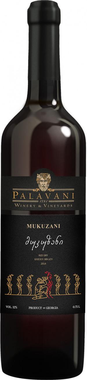 PALAVANI MUKUZANI 0,75  RED DRY