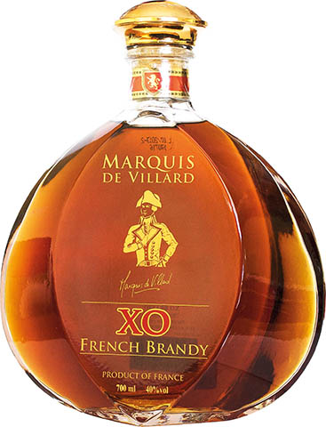 MARQUIS DE VILLARD XO BRANDY 0,7L goły