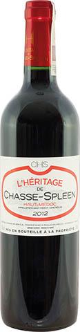 L'Heritage De Chasse Spleen 2015