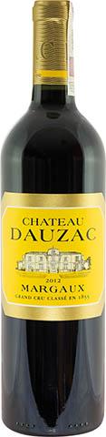 CHATEAU DAUZAC 5 EME MARGAUX 0,75 2012