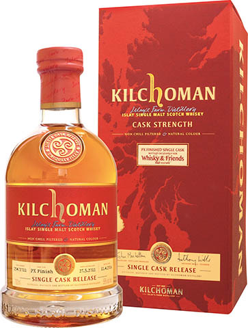 Kilchoman Single Cask Finished 2001 Whisky & Friends