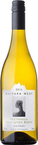 Waipara West Ram Paddock Sauvignon Blanc 2014