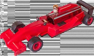 Red Formula Samochód Wyścigowy