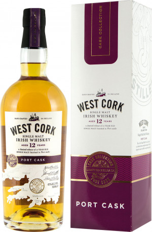 West Cork 12YO Port Cask Malt Kartonik