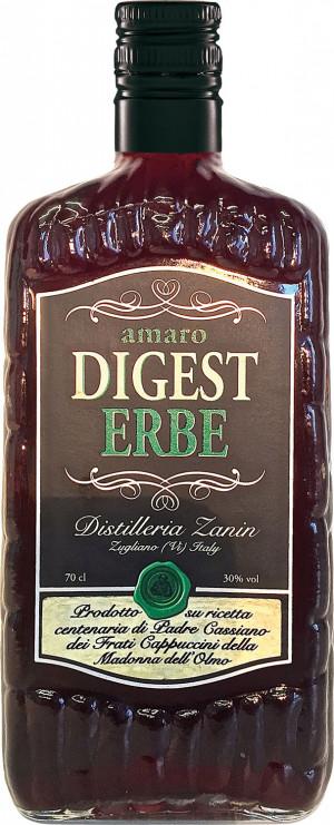 Liquore Amaro Digest Erbe 0,7 30% Zanin