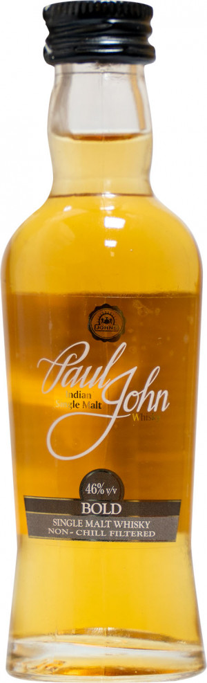 Paul John Single Malt Bold Miniaturka