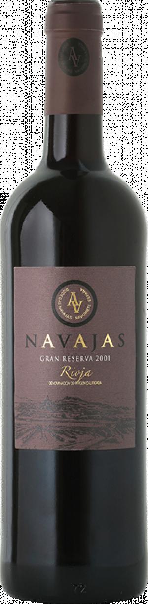 Navajas Gran Reserva 2010