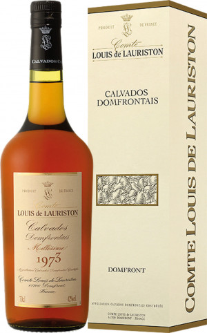 CALVADOS DOMFRONTAINS LAURISTON 1964 0,7