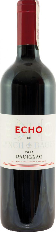Echo De Lynch Bages 2012