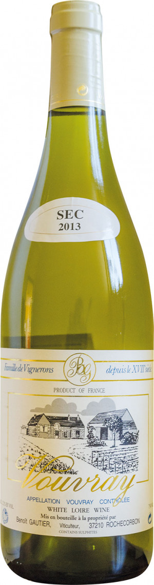Vouvray Tranquille Sec Gautier 2017