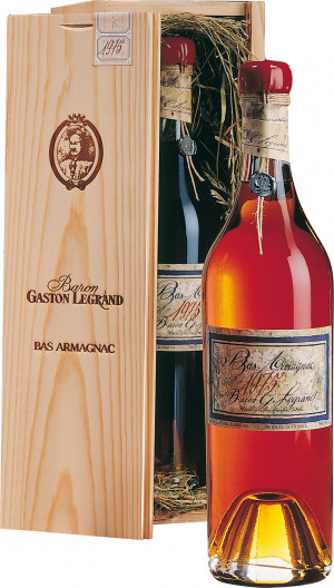 Baron Gaston Legrand 1952 Armagnac 1952